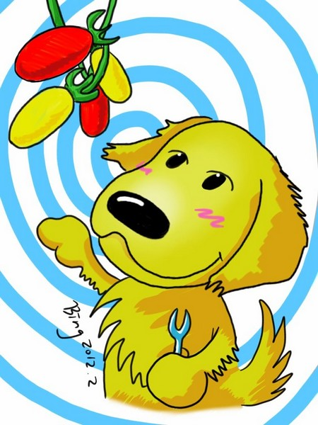 阿嘟愛吃蕃茄