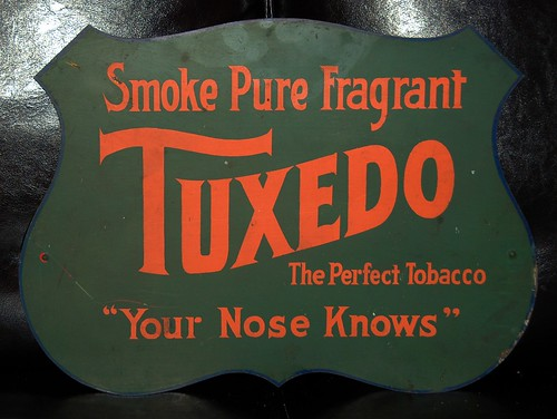Your Nose Knows [this was chocolate-flavored tobacco from the turn of the last century by pete@eastbaywilds.com