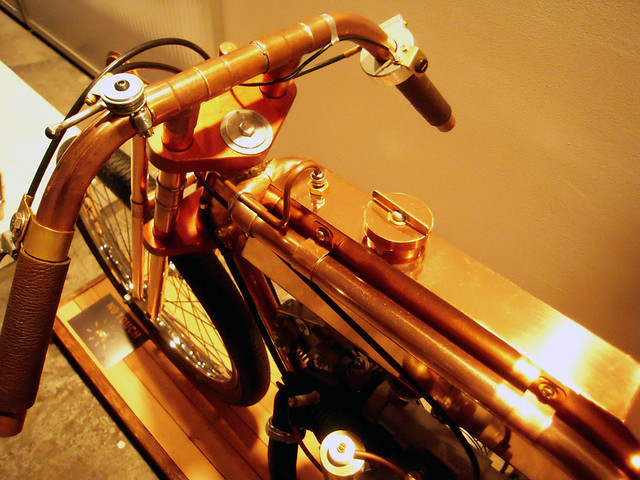 Copper Gas Tank