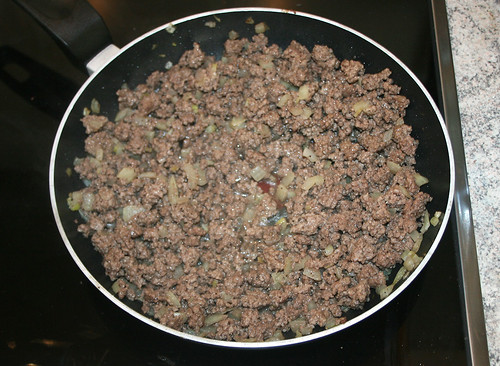 19 - Gehacktes durchgebraten / Fried ground meat