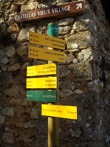 Path signposts!