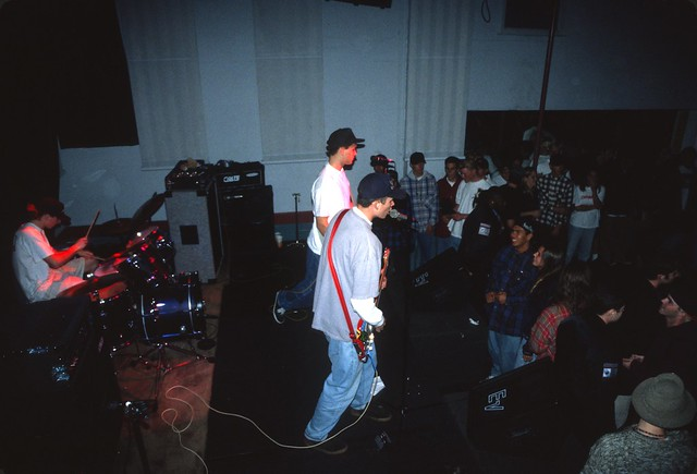 Early Blink-182 show at the Soul Kitchen in El Cajon