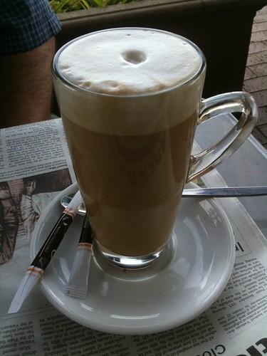 Cafe Latte (Mug $3.80)