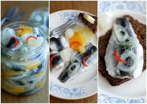 tsitrusräimed/pickled baltic herring