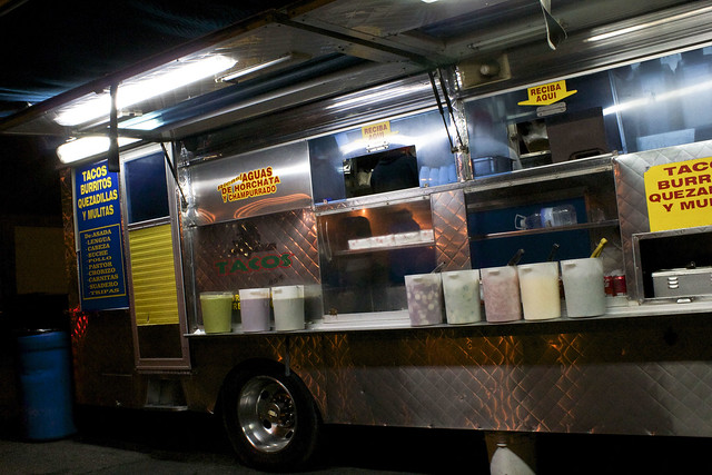 Joe's favorite taco truck on Fair Oaks Ave in Pasadena