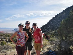 Foxy Hikers on White Rock La Madre Springs Trail