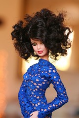 barbie Klimt wearing dollsalive