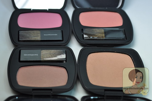 bareMinerals READY™ Blush and READY™ Bronzer Swatches and Review ...