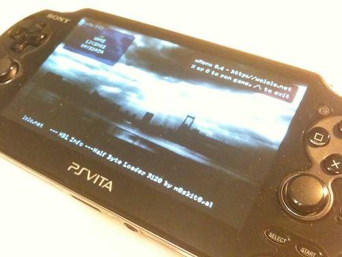 VHBL on PS Vita 1.61