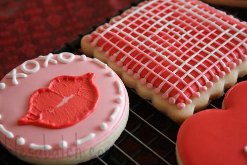 2012 Valentine Cookies.