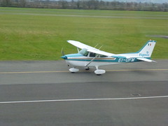aviation, airplane, propeller driven aircraft, wing, vehicle, cessna 206, cessna 150, cessna 182, cessna 172, tarmac, ultralight aviation, aircraft engine,