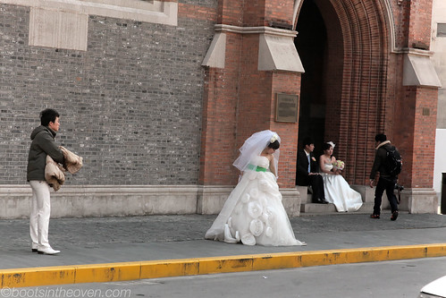 Brides near the Bund