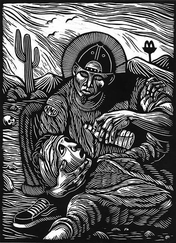 Santo Pollero. (Santo Toribio Romo)