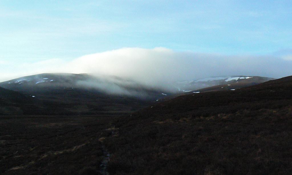 Mist over Carn Liath