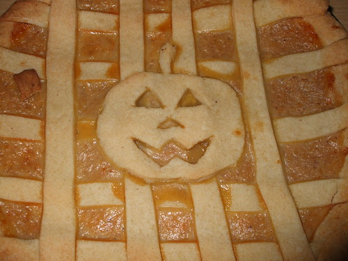 Halloween Pics 2011: Pumpkin Pie Close-up
