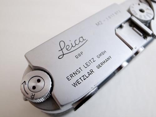 Leica M2 top plate