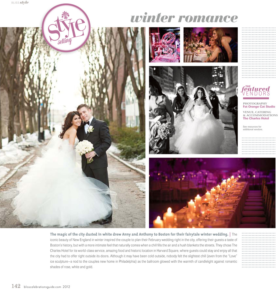 Anny & Anthony in Bliss Celebrations Guide