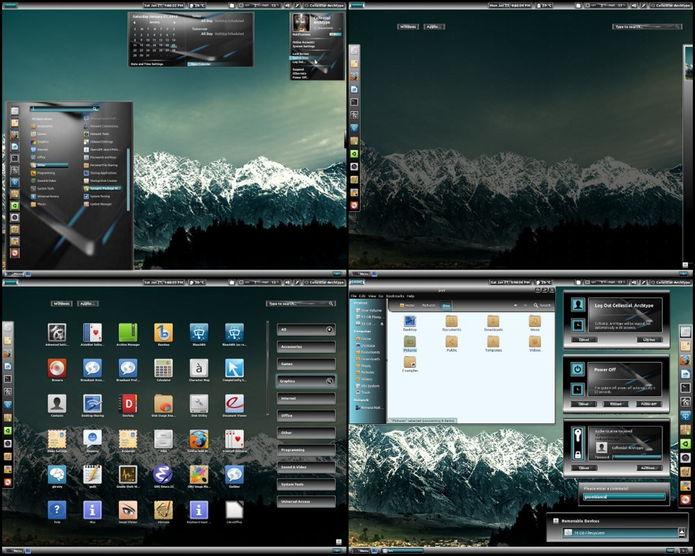 gnome shell theme