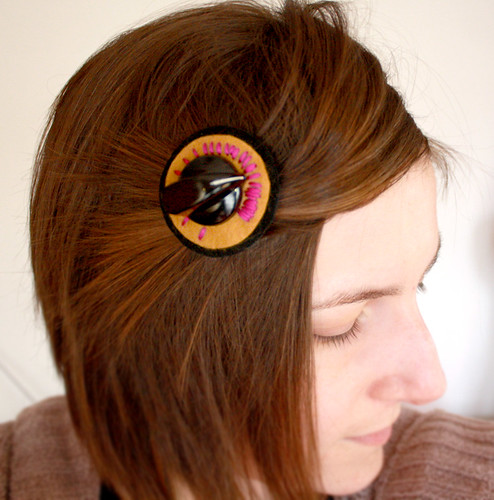 Awesome Meter Dial Hair Clip