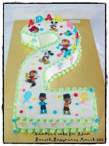 adam harith's cake