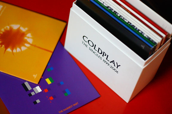 "Coldplay 7"" Singles"
