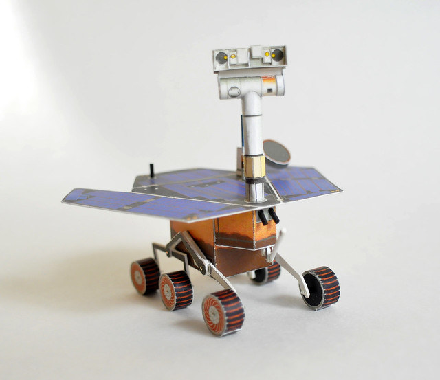 Papercraft Mars Rover 3 | Sorry that the Rock Abrasion ...