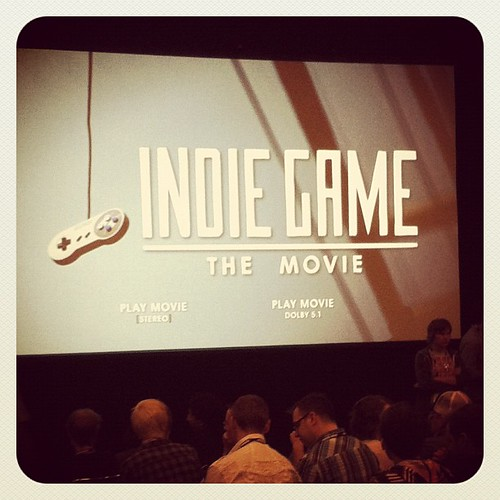 Indie Game: The Movie screening at #GDC2012 #ohyes #sohappy