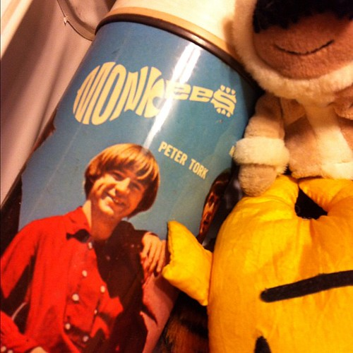 My Monkees thermos.