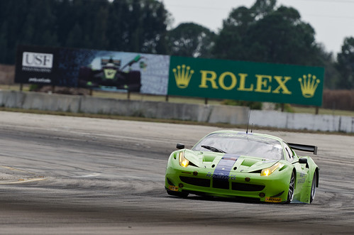 Sebring 2012 - ALMS / WEC Winter Test - Krohn Racing Ferrari 458 GTE