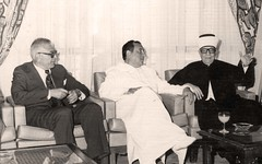 على هامش ملتقى الحضارة الإسلامية  - الأردن - 1983