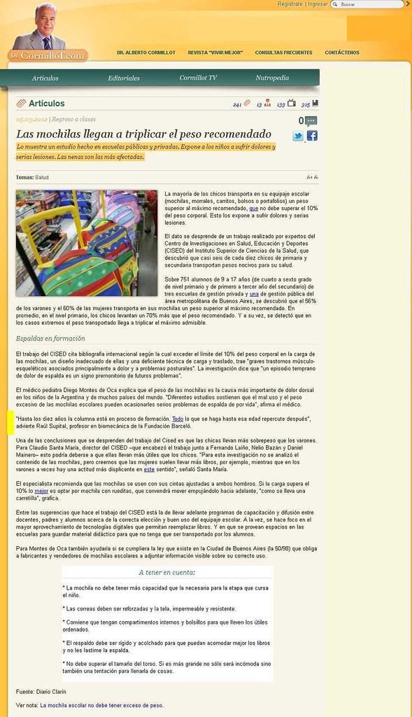 Site Dr  Cormillot 05-03-12