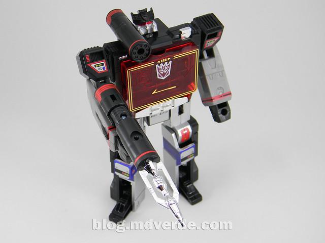 Transformers Soundblaster - G1 Encore - modo robot