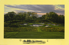 The 17th Hole, Black Course, Bethpage State Park, Bethpage, New York