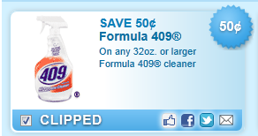 Formula 409 Cleaner  Coupon