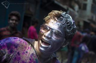 The Holi Face !