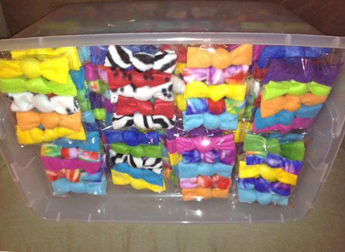 Tia's big box of catnip knots