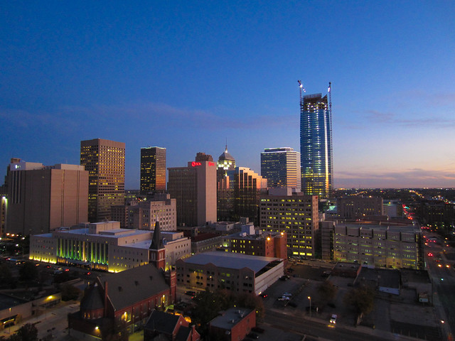Downtown Oklahoma City