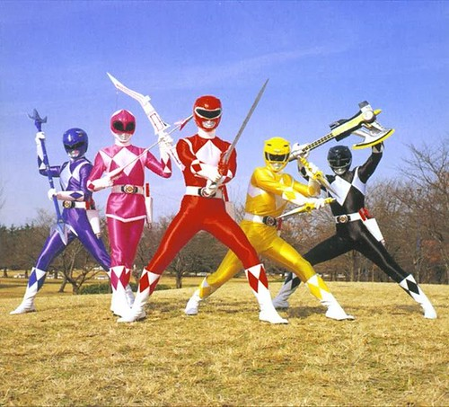 Power Rangers: Adaptacion Americana de Super Sentai