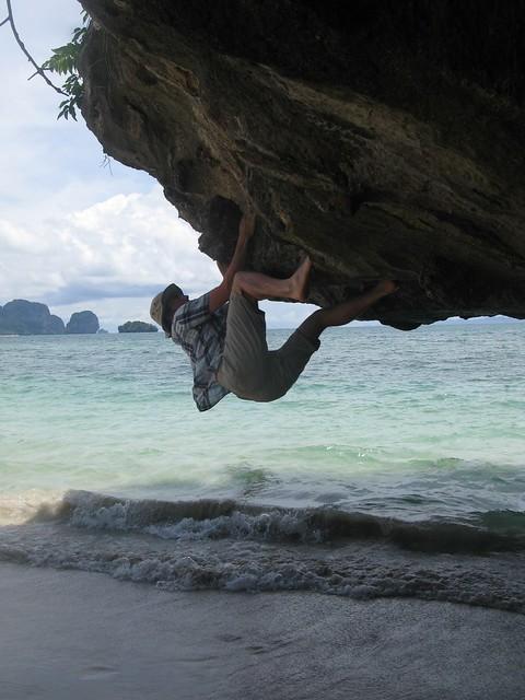 Bouldering, Phra Nang beach