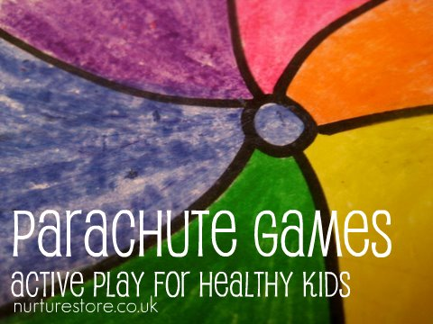 parachute play games