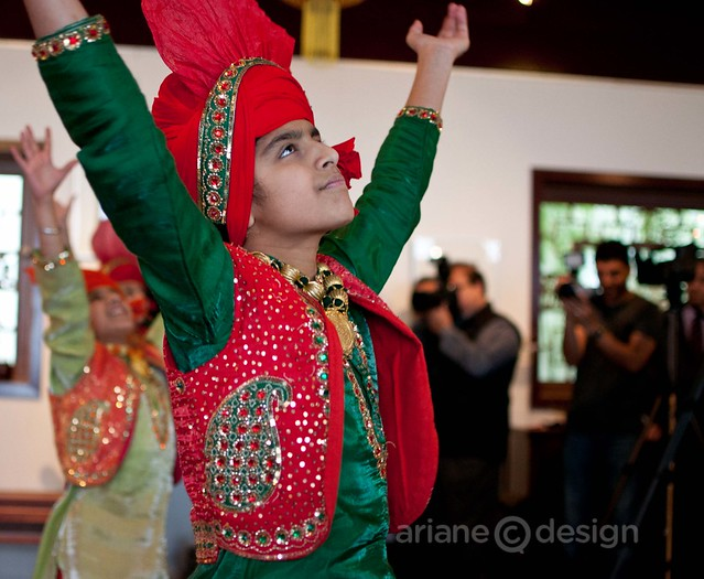 Shan E Punjab's Little Stars Bhangra Team