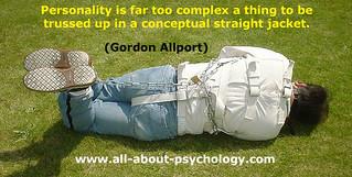 Gordon Allport Personality Quote