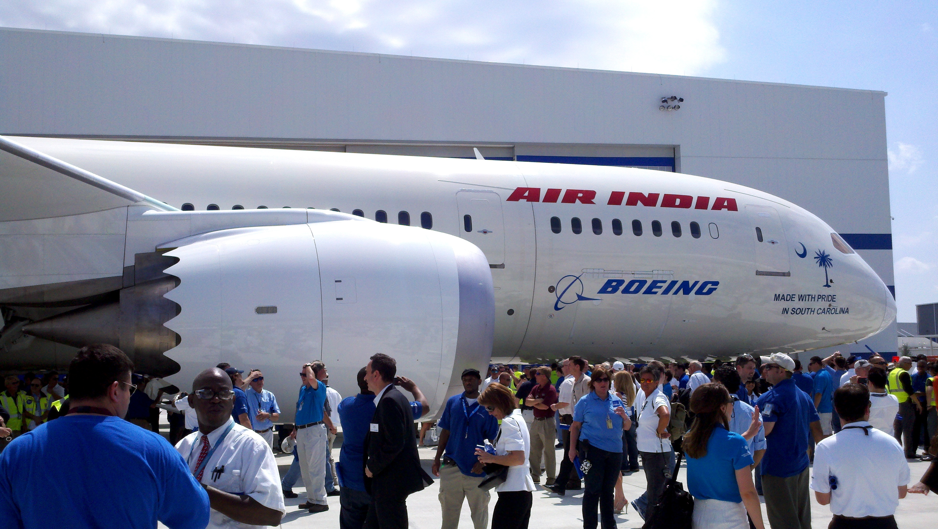 North Charleston-made Boeing 787