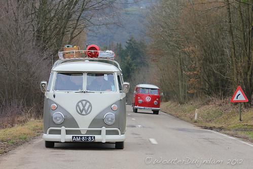 AM-81-85 Volkswagen Transporter bestelwagen 1965