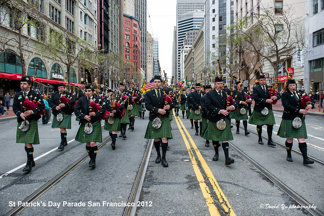 St Patrick's Day Parade San Francisco