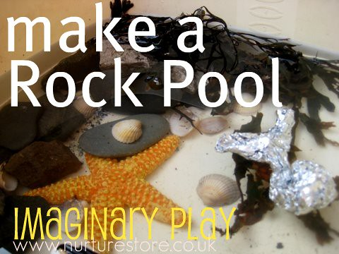 how to make a rock pool