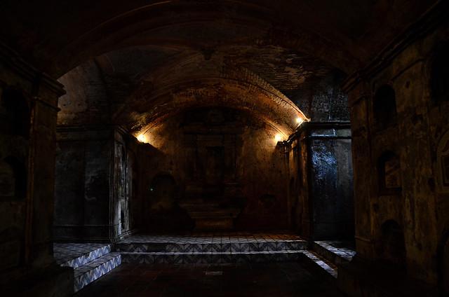 Underground Cemetery, Nagcarlan Laguna