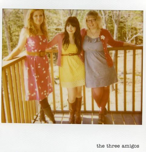 polaroid - the three amigos