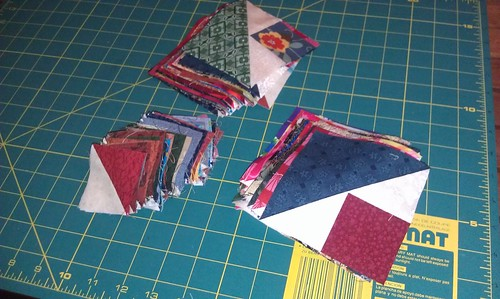 squared up scrap blocks