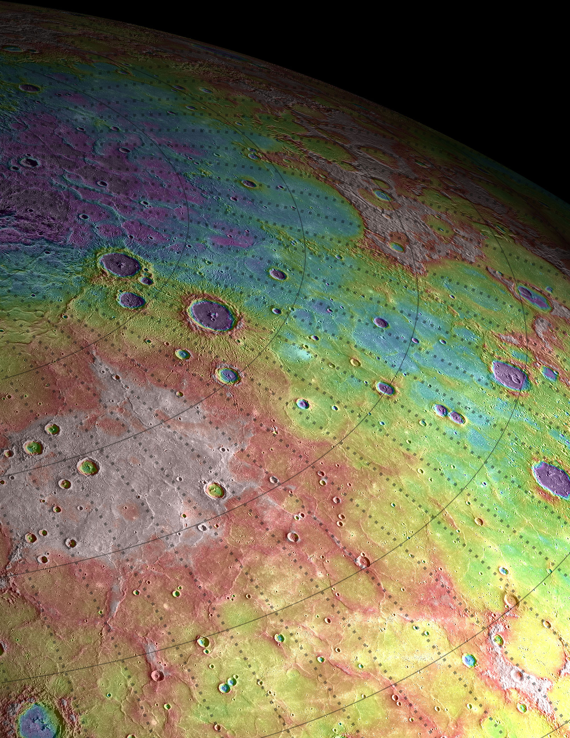 Mercury: The Highs and Lows of Goethe by NASA